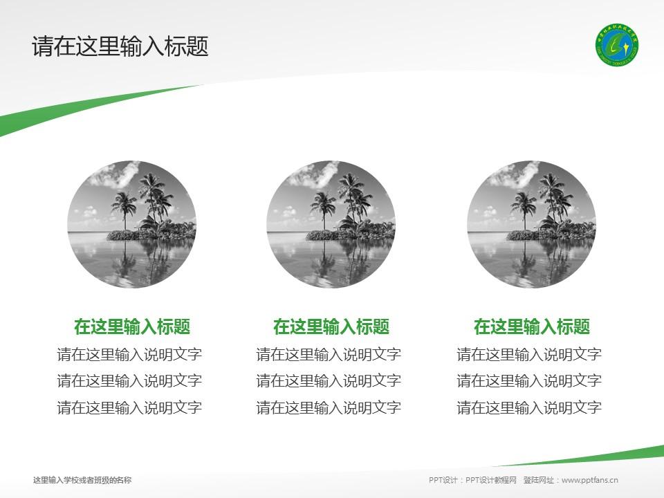 甘肃林业职业技术学院PPT模板下载_幻灯片预览图3