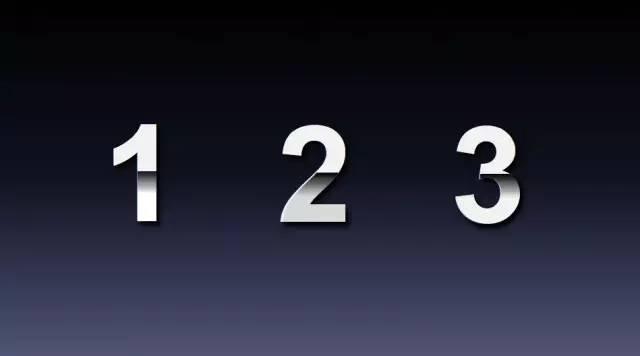 如何用PPT设计出一个大气有质感的数字?