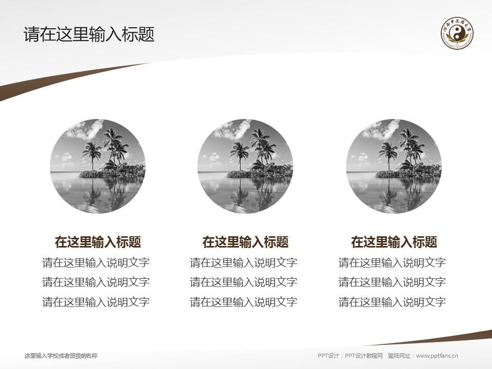 河南中医学院PPT模板下载_幻灯片预览图3