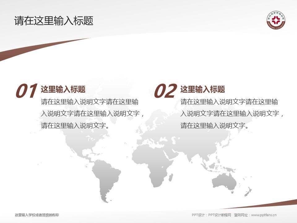 郑州成功财经学院PPT模板下载_幻灯片预览图12