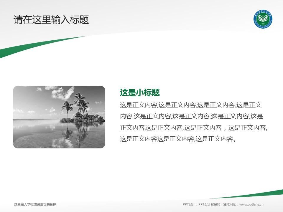 河南推拿职业学院PPT模板下载_幻灯片预览图4