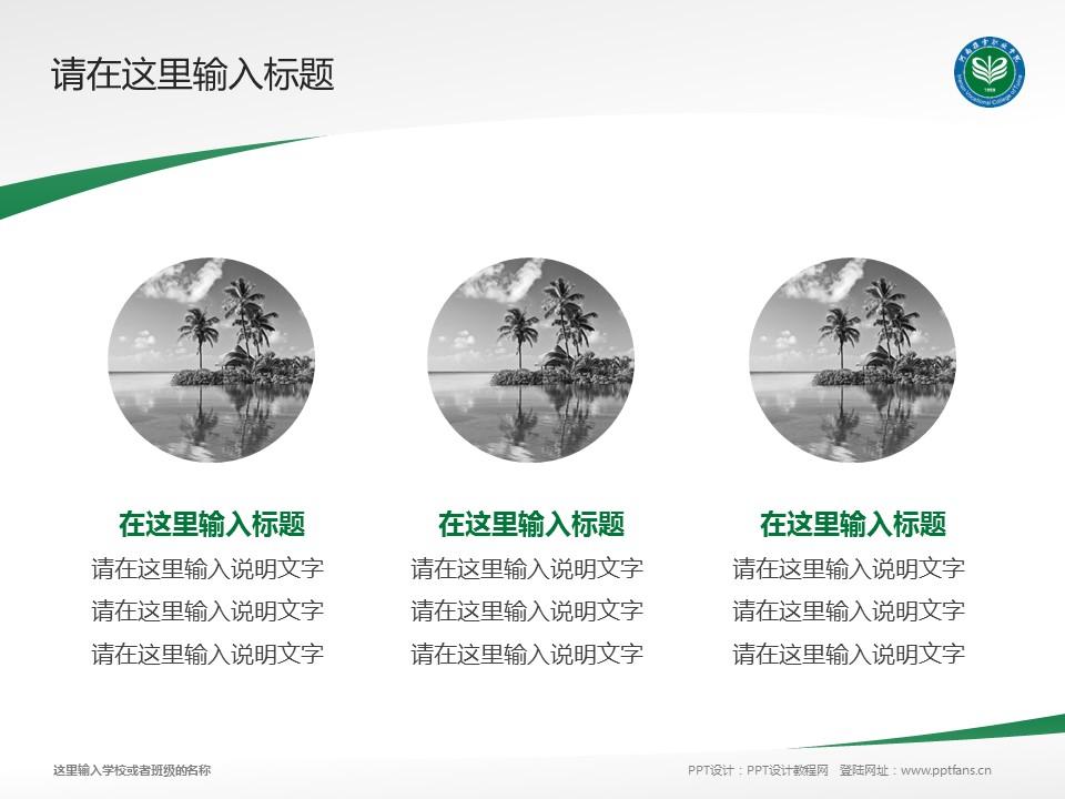 河南推拿职业学院PPT模板下载_幻灯片预览图3