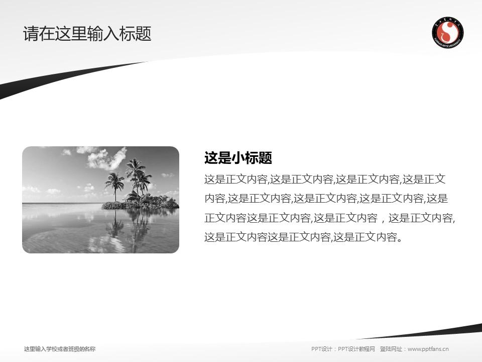 云南艺术学院PPT模板下载_幻灯片预览图4