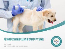 青海畜牧兽医职业技术学院PPT模板下载