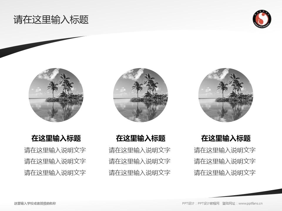 云南艺术学院PPT模板下载_幻灯片预览图3
