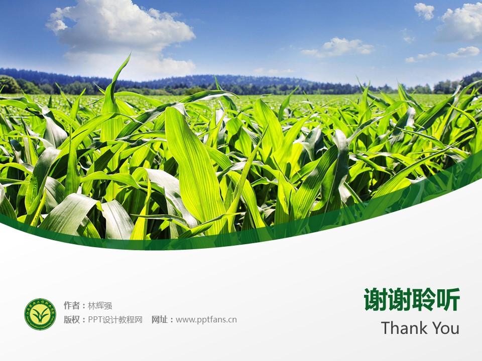 江西农业工程职业学院PPT模板下载_幻灯片预览图19