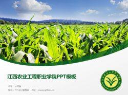 江西农业工程职业学院PPT模板下载