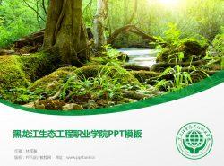 黑龙江生态工程职业学院PPT模板下载