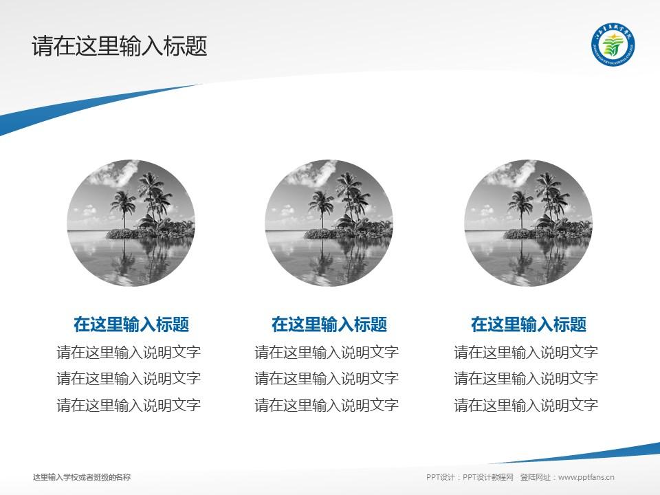 江西青年职业学院PPT模板下载_幻灯片预览图3