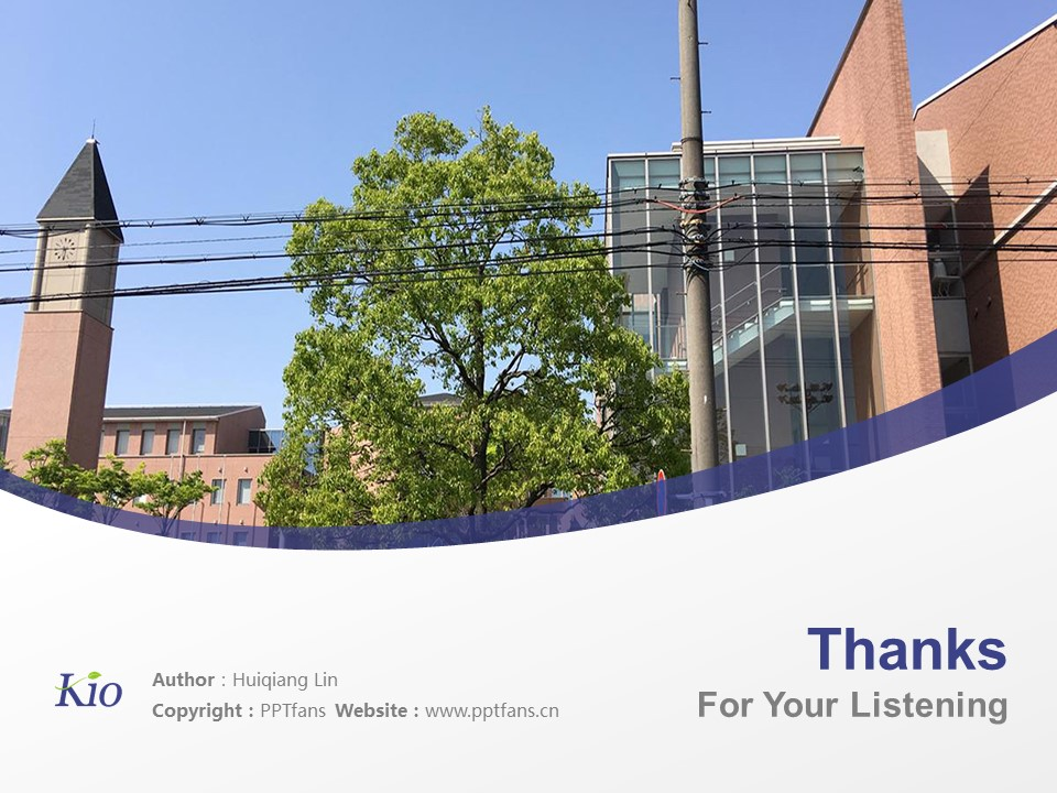 Kio University Powerpoint Template Download | 畿央大学PPT模板下载_幻灯片19