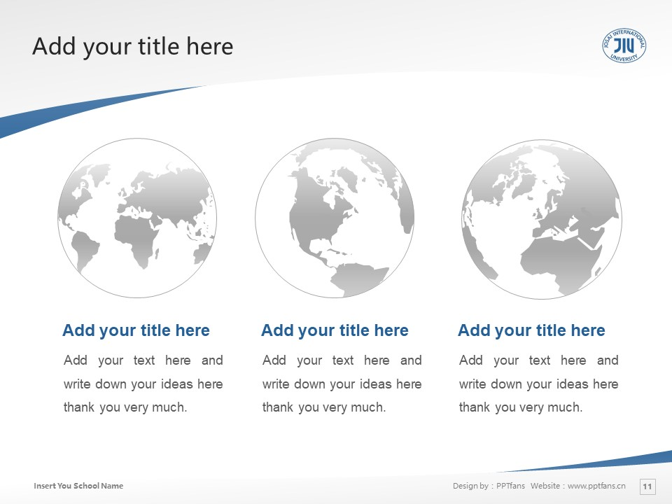 Josai International University Powerpoint Template Download | 城西国际大学PPT模板下载_slide11