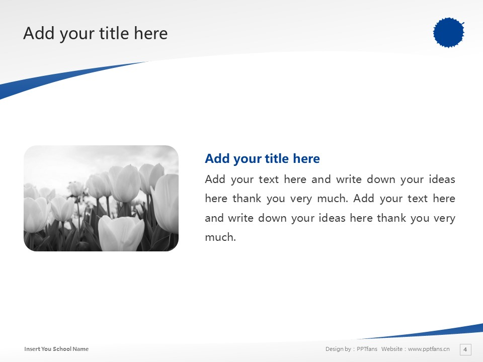 Kyoto University Of Arts And Design Powerpoint Template Download | 京都造形艺术大学PPT模板下载_幻灯片4
