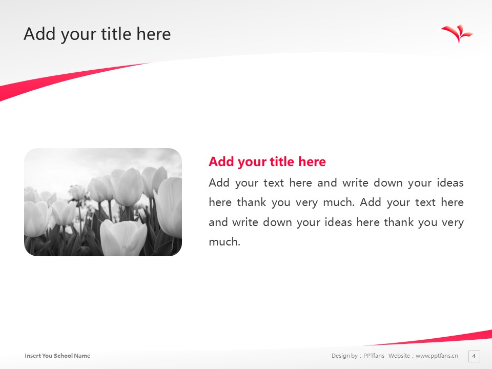 kyoto koka women's university Powerpoint Template Download | 京都光华女子大学PPT模板下载_幻灯片4