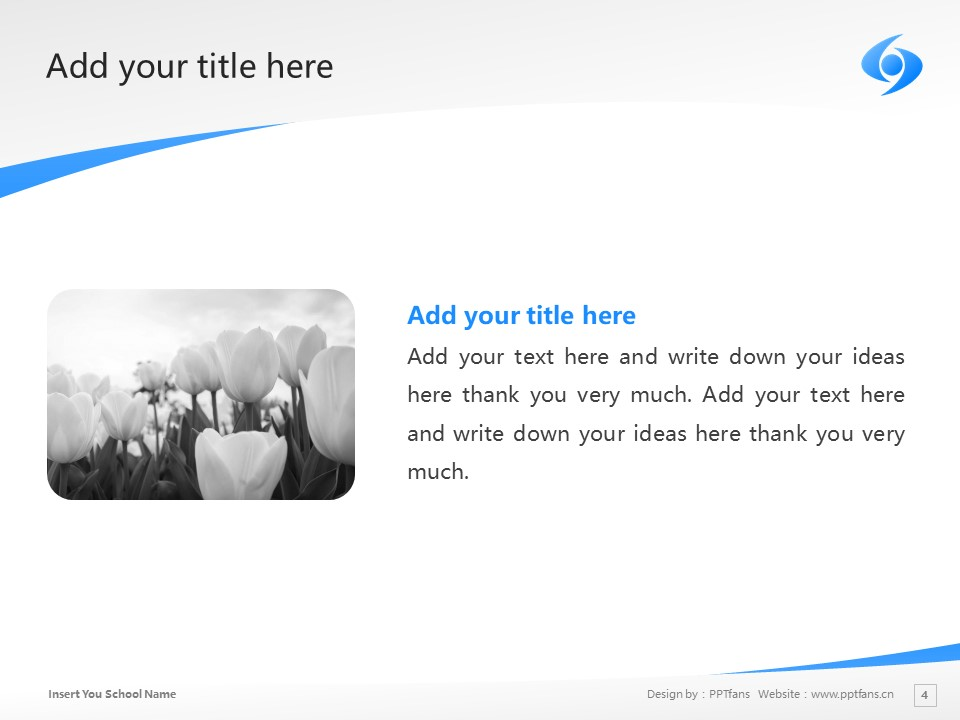 Shobi University Powerpoint Template Download | 尚美学园大学PPT模板下载_幻灯片4