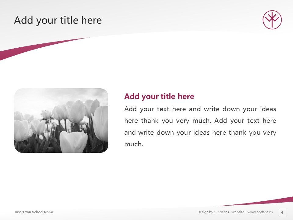 Keiwa College Powerpoint Template Download | 敬和学园大学PPT模板下载_幻灯片4