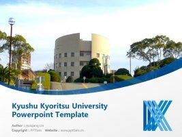 Kyushu Kyoritsu University Powerpoint Template Download | 九州共立大学PPT模板下载