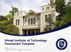 Himeji Institute of Technology Powerpoint Template Download | 姬路工业大学PPT模板下载