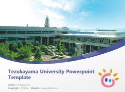 Tezukayama University Powerpoint Template Download | 帝塚山大学PPT模板下载