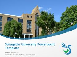 Surugadai University Powerpoint Template Download | 骏河台大学PPT模板下载