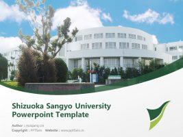 Shizuoka Sangyo University Powerpoint Template Download | 静冈产业大学PPT模板下载