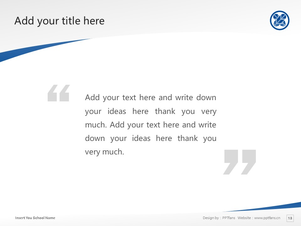 Tama University Powerpoint Template Download | 多摩大学PPT模板下载_slide13