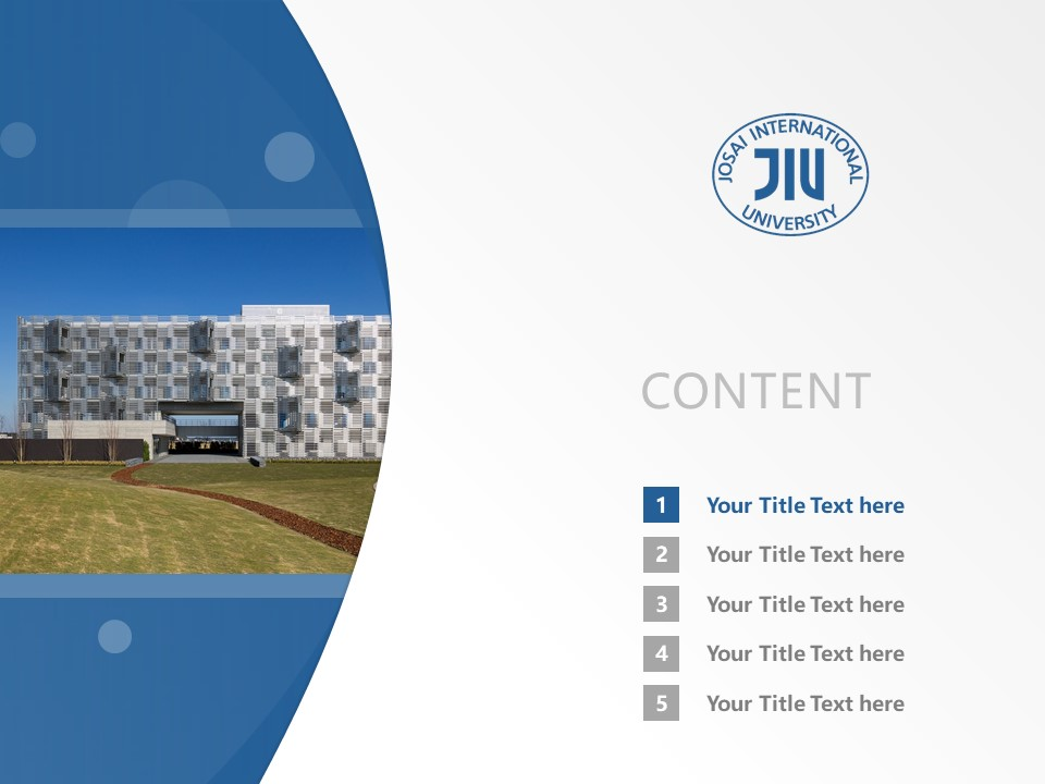 Josai International University Powerpoint Template Download | 城西国际大学PPT模板下载_幻灯片2