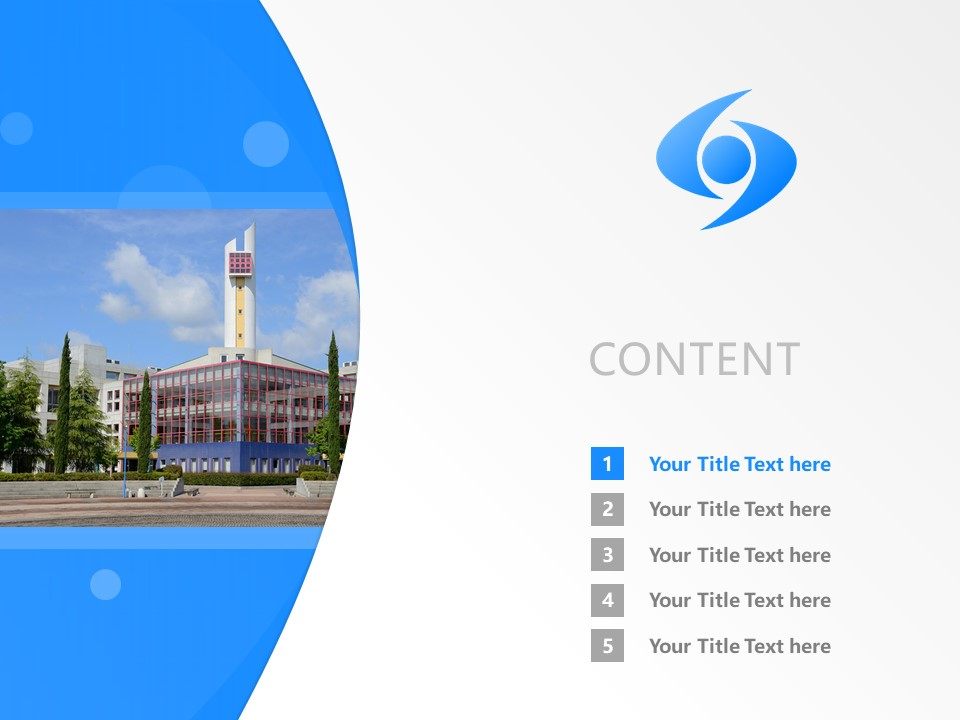 Shobi University Powerpoint Template Download | 尚美学园大学PPT模板下载_幻灯片2