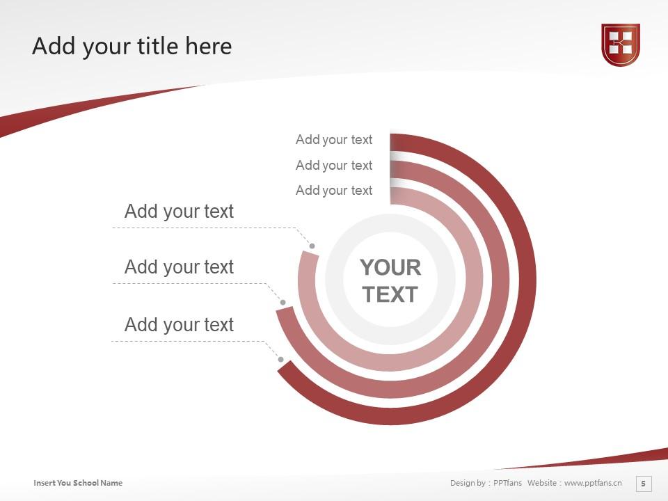 Kaetsu University Powerpoint Template Download   嘉悦大学PPT模板下载_slide5