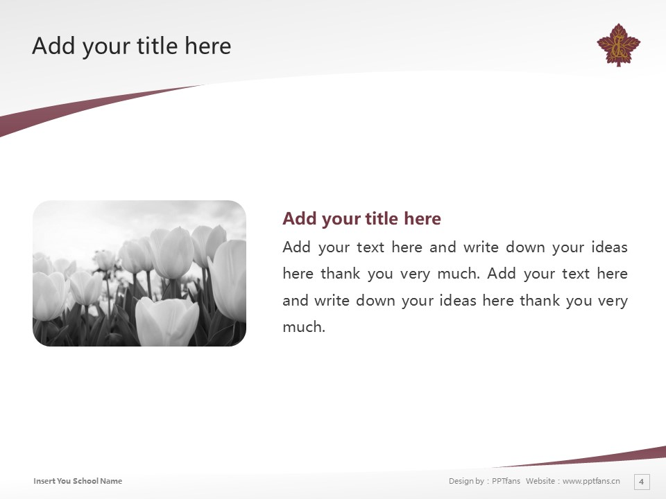 Toyo Eiwa University Powerpoint Template Download | 东洋英和女学院大学PPT模板下载_幻灯片4
