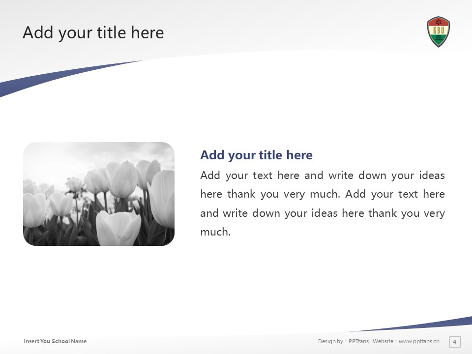 Kyoto Bunkyo University Powerpoint Template Download | 京都文教大学PPT模板下载_slide3