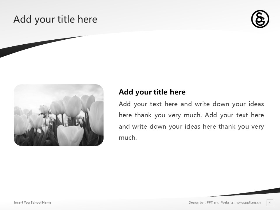 Senzoku Gakuen College of Music Powerpoint Template Download | 洗足学园音乐大学PPT模板下载_幻灯片4