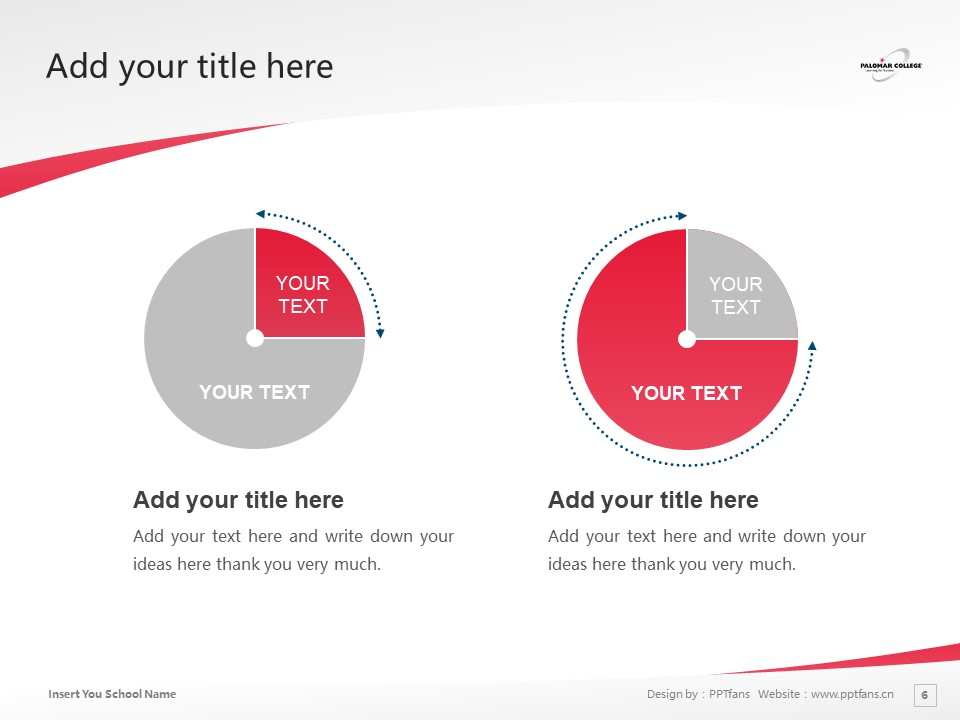Palomar College Powerpoint Template Download | 巴洛玛学院PPT模板下载_slide6