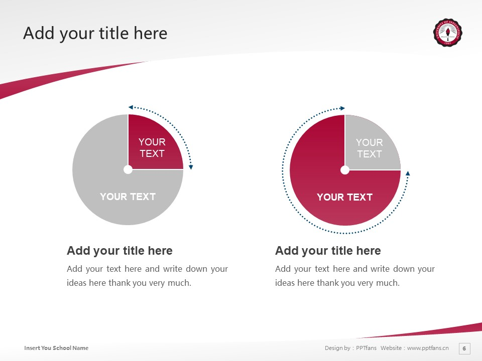 University of Indianapolis Powerpoint Template Download | 印第安纳波利斯大学PPT模板下载_slide6