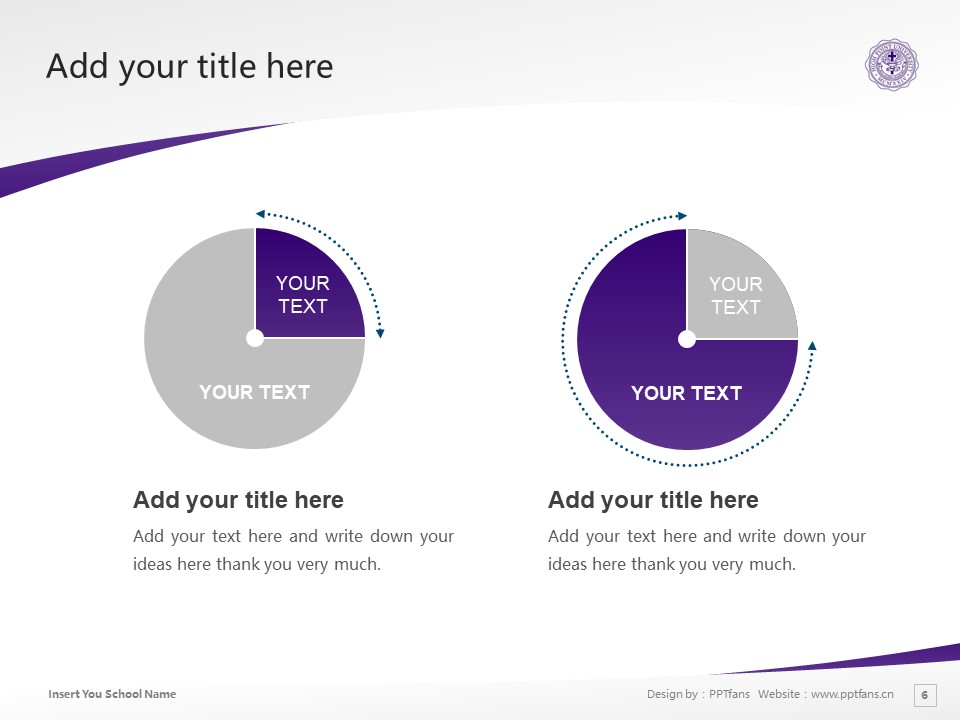 High Point University Powerpoint Template Download | 高点大学PPT模板下载_slide6