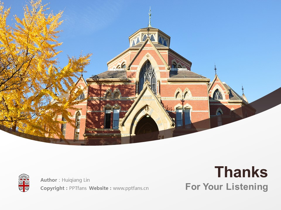 Brown University Powerpoint Template Download | 布朗大学PPT模板下载_slide19