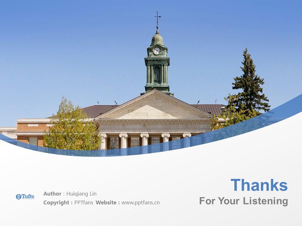 Tufts University Powerpoint Template Download | 塔夫茨大学PPT模板下载_slide19