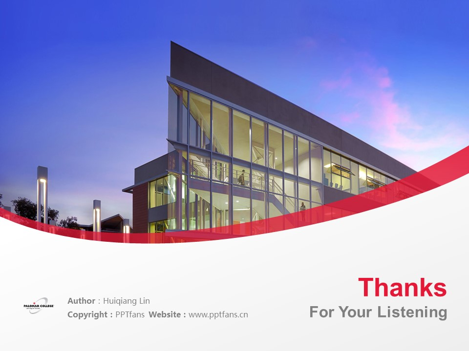 Palomar College Powerpoint Template Download | 巴洛玛学院PPT模板下载_slide19