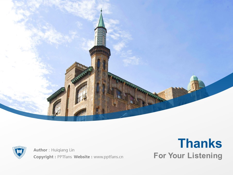 Yeshiva University Powerpoint Template Download | 叶史瓦大学PPT模板下载_slide19