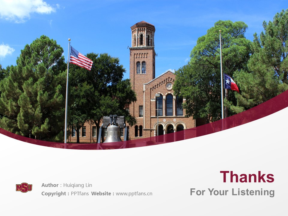Midwestern State University Powerpoint Template Download | 中西州立大学PPT模板下载_幻灯片19