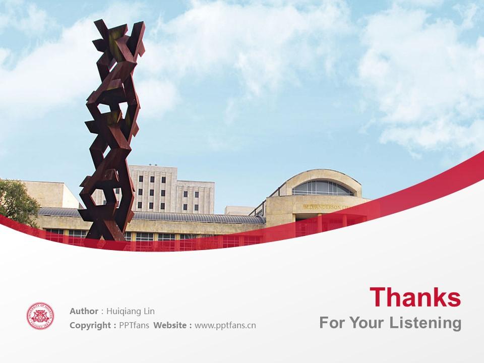 University of Houston Powerpoint Template Download | 休斯顿大学PPT模板下载_幻灯片19