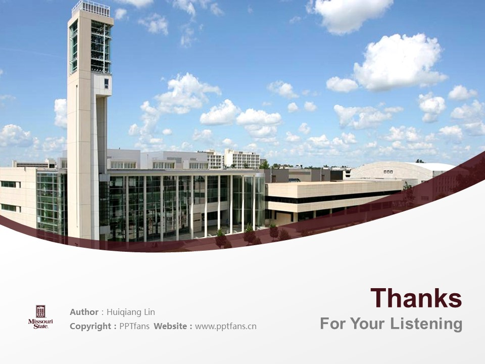Missouri State University Powerpoint Template Download | 密苏里州立大学PPT模板下载_幻灯片19
