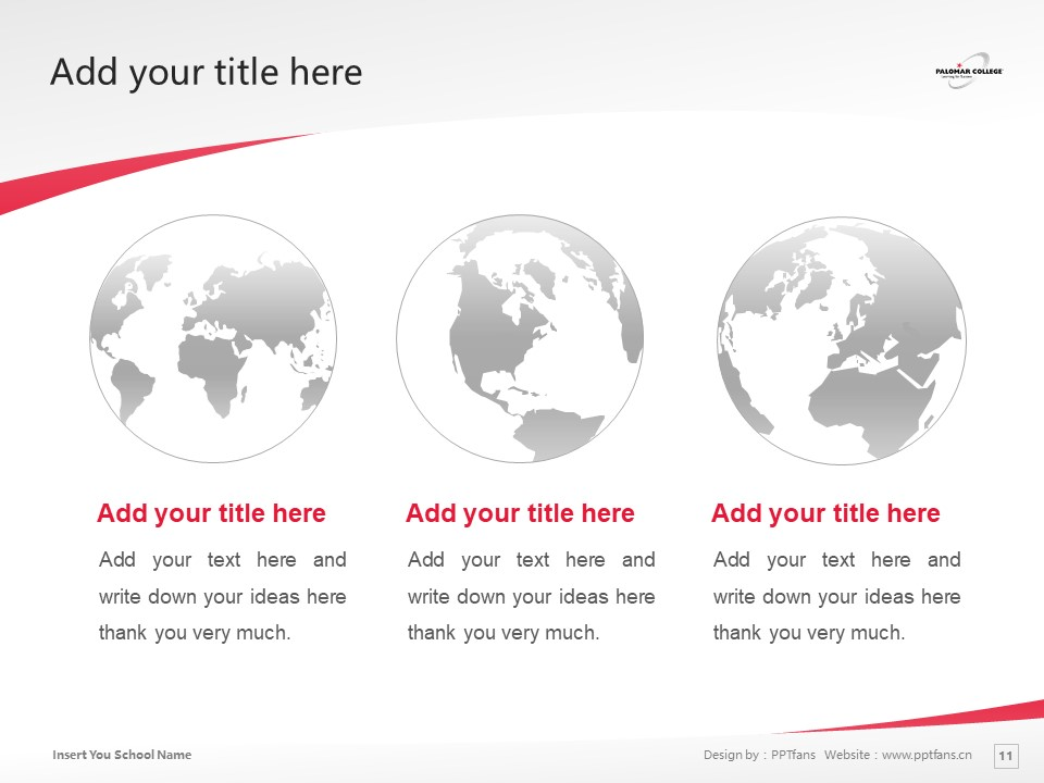 Palomar College Powerpoint Template Download | 巴洛玛学院PPT模板下载_slide11