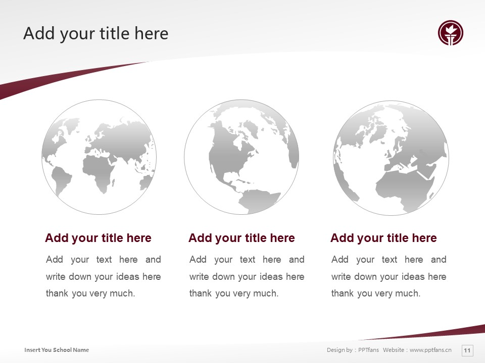 Seattle Pacific University Powerpoint Template Download | 西雅图太平洋大学PPT模板下载_slide11