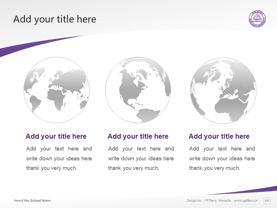 New Mexico Highlands University Powerpoint Template Download | 新墨西哥高地大学PPT模板下载_slide11