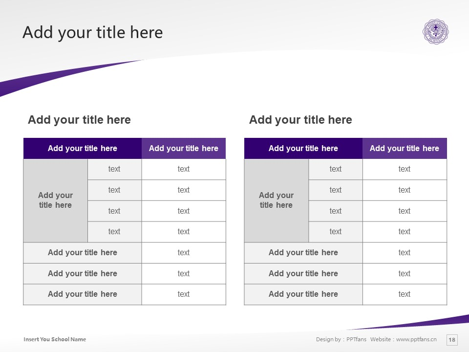 High Point University Powerpoint Template Download | 高点大学PPT模板下载_slide18