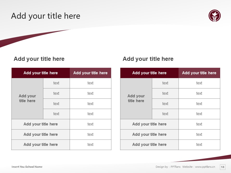 Seattle Pacific University Powerpoint Template Download | 西雅图太平洋大学PPT模板下载_slide18
