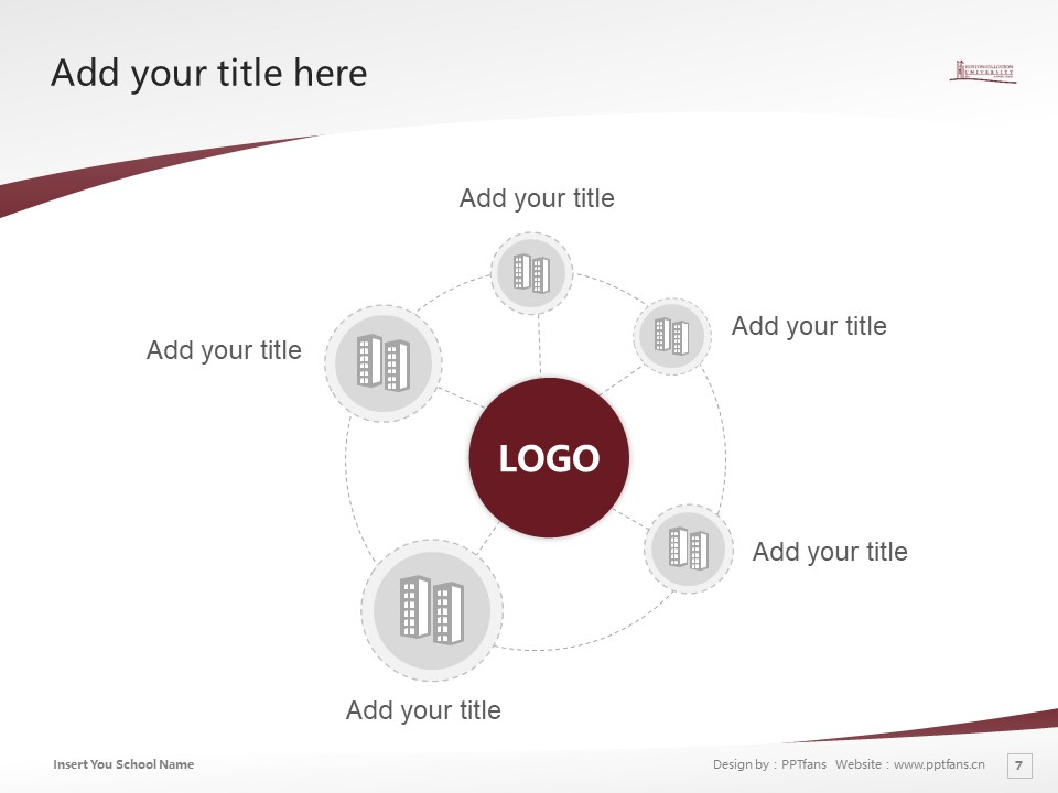 Huston-Tillotson College Powerpoint Template Download | 休斯顿蒂罗森学院PPT模板下载_slide7