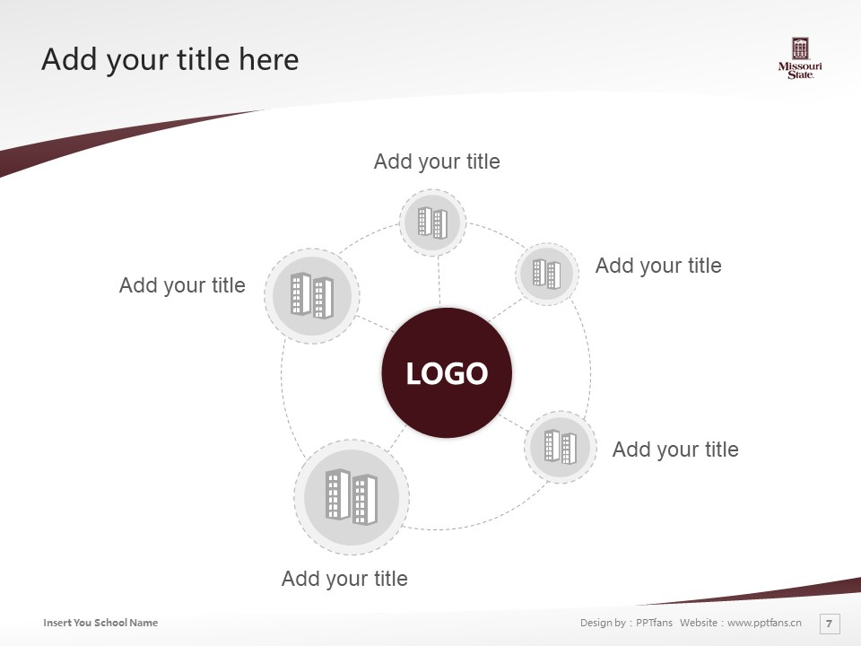 Missouri State University Powerpoint Template Download | 密苏里州立大学PPT模板下载_slide7