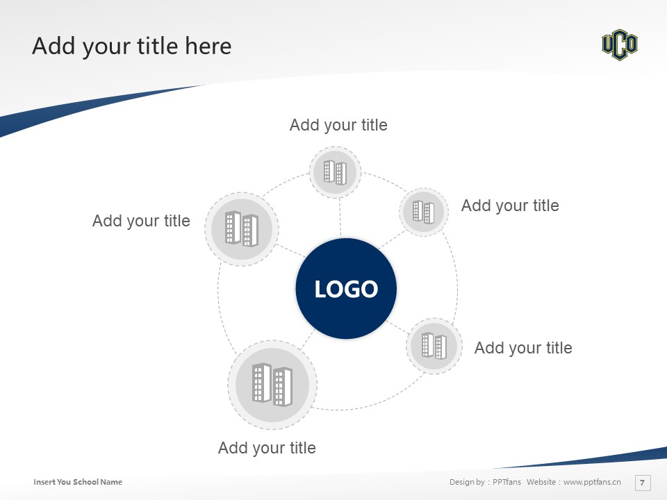 University of Central Oklahoma Powerpoint Template Download | 中俄克拉荷马大学PPT模板下载_幻灯片7