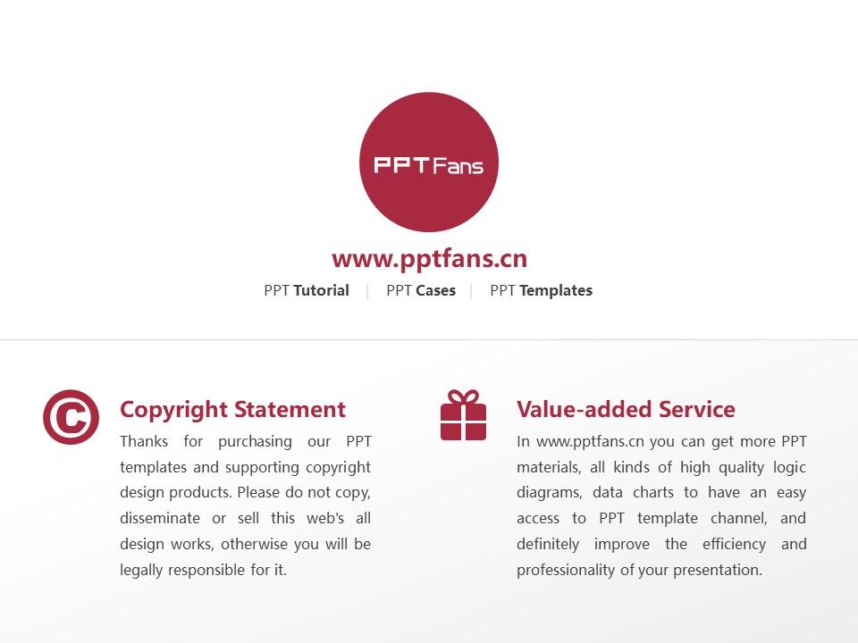 Indiana University of Pennsylvania Powerpoint Template Download | 宾州印第安那大学PPT模板下载_slide20